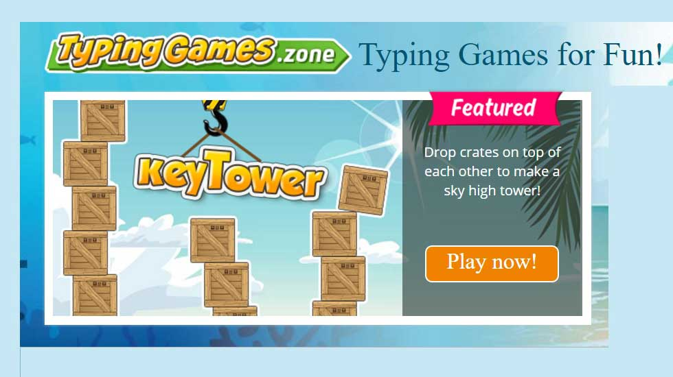 Games to Master Typing: Explore Typing Master