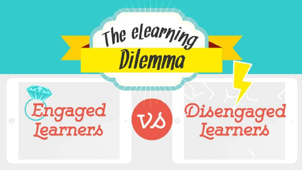 [Infographic] The eLearning Dilemma: Engaged vs Unengaged Learners