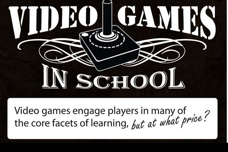 [Infographic] Video Games in School: Pros and Cons