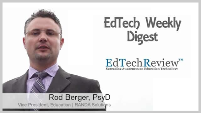 EdTech Weekly Digest - 1 (November 2013)