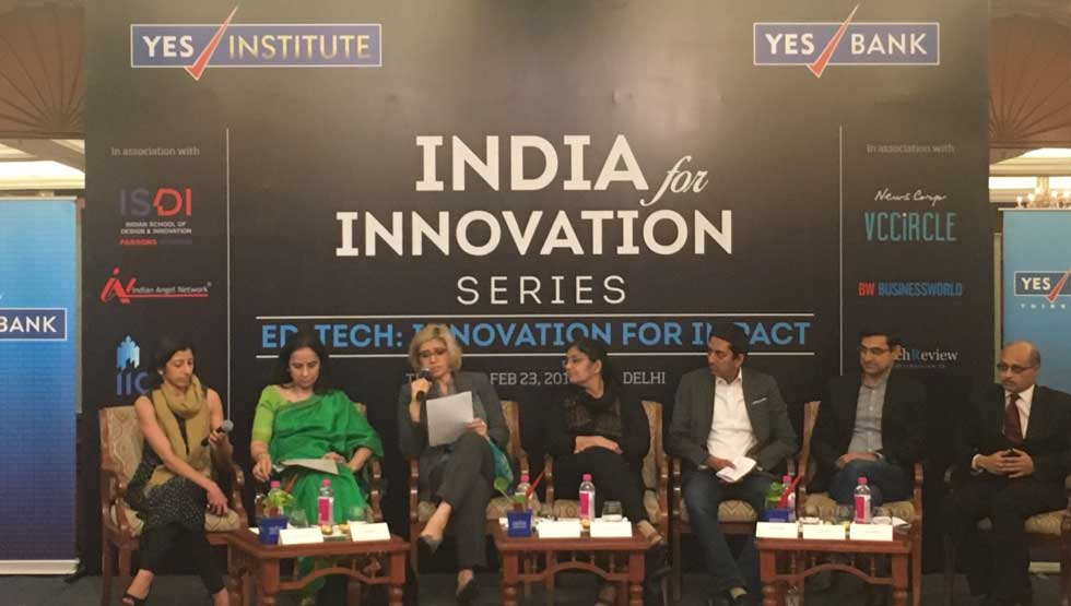 YES Institute Hosts ED-TECH Innovation for Impact - First in 'India for Innovation Series'